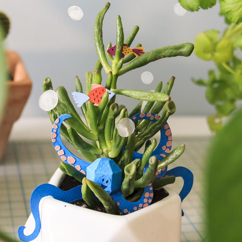Paper + Plants